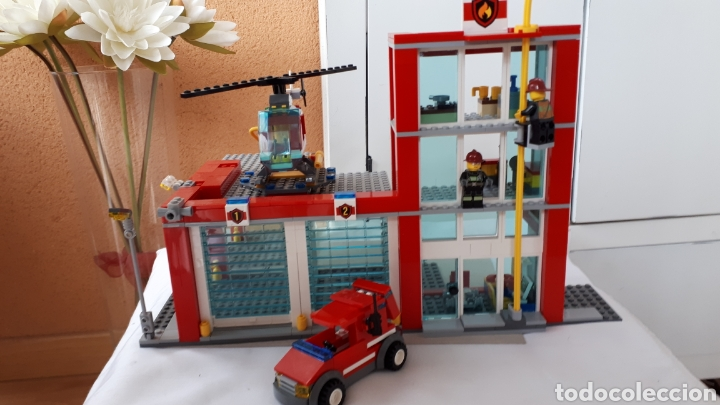 Juegos construcción - Lego: LEGO ESTACIÓN DE BOMBEROS - Foto 2 - 218839777