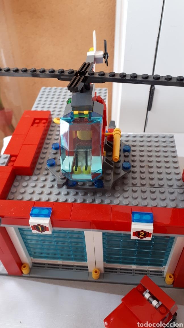 Juegos construcción - Lego: LEGO ESTACIÓN DE BOMBEROS - Foto 3 - 218839777