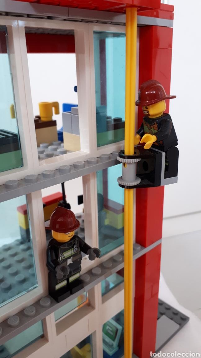 Juegos construcción - Lego: LEGO ESTACIÓN DE BOMBEROS - Foto 5 - 218839777