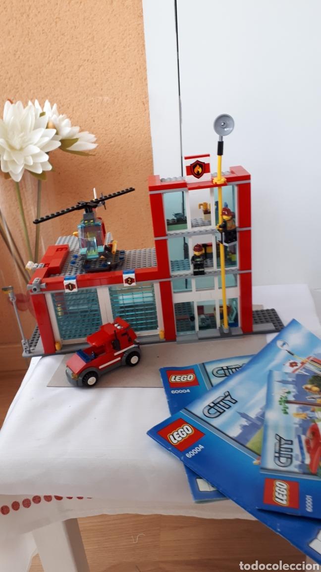 LEGO ESTACIÓN DE BOMBEROS (Juguetes - Construcción - Lego)