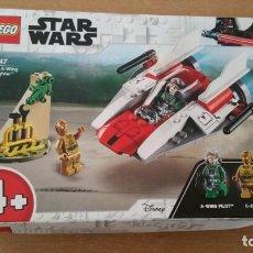Juegos construcción - Lego: LEGO STAR WARS REBEL A WING STARFIGHTER C-3PO A-WING PILOT NUEVO 75247. Lote 219205182