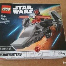 Juegos construcción - Lego: LEGO STAR WARS MICRO FIGHTERS SITH INFILTRATOR SERIES 6 NUEVO 75224. Lote 219205896