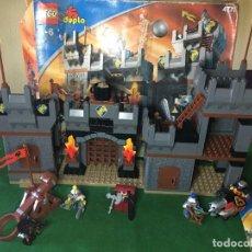 Juegos construcción - Lego: LEGO DUPLO CABALLEROS DEL CASTILLO REF. 4777. Lote 219527120