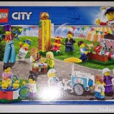 Juegos construcción - Lego: LEGO CITY 60234, PACK MINIFIGURAS, FERIA, DEL AÑO 2019, NUEVO Y PRECINTADO EN SU CAJA ORIGINAL.. Lote 219546718
