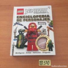 Juegos construcción - Lego: LEGO NINJAGO: CHARACTER ENCYCLOPEDIA. Lote 219613253