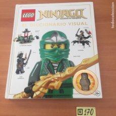 Juegos construcción - Lego: LEGO NINJAGO BOOK DICCIONARIO. Lote 219613700