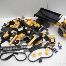 Juegos construcción - Lego: LOTE DE PIEZAS LEGO CITY - CAMION VOLQUETE.. Lote 219827105