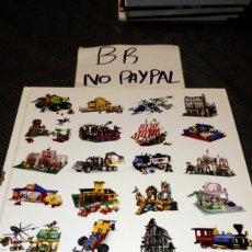 Juegos construcción - Lego: LIBRO TAPA DURA GRANDES SETS LEGO VER FOTOS AGUJERO LOMO. Lote 219913128