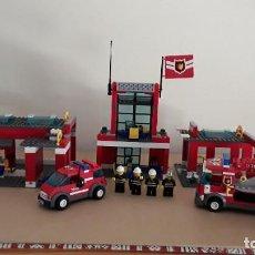 Juegos construcción - Lego: LEGO ESTACIÓN DE BOMBEROS, REF. 7945. Lote 220637403