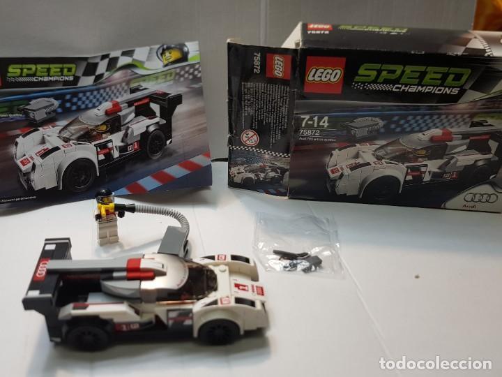 LEGO AUDI R18 QUATTRO SPEED CHAMPIONS RED.75872 EN CAJA ORIGINAL Y MANUAL COMPLETO (Juguetes - Construcción - Lego)