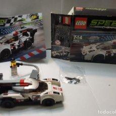 Juegos construcción - Lego: LEGO AUDI R18 QUATTRO SPEED CHAMPIONS RED.75872 EN CAJA ORIGINAL Y MANUAL COMPLETO. Lote 220935020