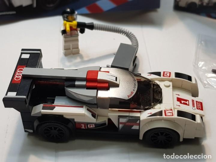 Juegos construcción - Lego: Lego Audi R18 Quattro Speed Champions red.75872 en caja original y manual completo - Foto 2 - 220935020