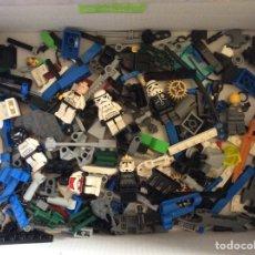 Juegos construcción - Lego: LOTE DE PIEZAS DE LEGO UNOS 550 GRAMOS. Lote 220966917