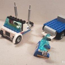Juegos construcción - Lego: LEGO PARTES DE CAMION DE POLICIA MUY BUEN ESTADO VER FOTOS. Lote 221163555