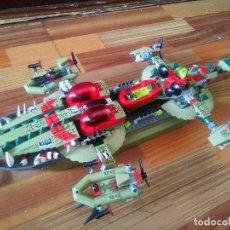 Juegos construcción - Lego: LEGO CHIMA NAVE DE COMANDO CRAGGERS SET 70006. Lote 221418355