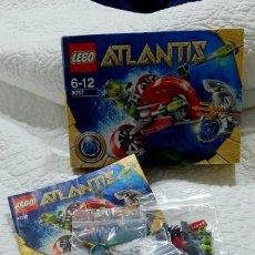 Juegos construcción - Lego: LEGO ATLANTIS 8057 /8072 /8073. Lote 221518718