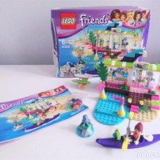Juegos construcción - Lego: LEGO FRIENDS 41315 HEARTLAKE SURF SHOP TIENDA DE SURF INCLUYE LA FIGURA DE MIA. Lote 221578798