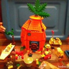 Juegos construcción - Lego: LEGO 3834 EXTRAS 3833 FIGURAS BOB ESPONJA PATRICIO Y SEÑOR CANGREJO. Lote 221608706