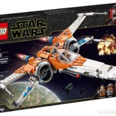 Juegos construcción - Lego: LEGO STAR WARS CAZA ALA-X DE POE DAMERON 75273 NUEVO THE RISE OF SKYWALKER LA GUERRA DE LAS GALAXIAS. Lote 221665626