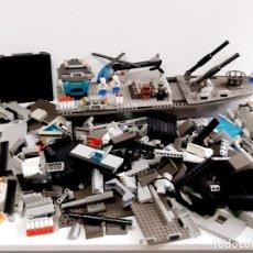 Juegos construcción - Lego: GRAN LOTE DE PIEZAS LEGO POSIBLE DE BARCO O BUQUE GRANDE - CASI 3 KILOS. Lote 221828188