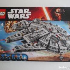 Juegos construcción - Lego: LEGO MILLENIUM FALCON 75105 HALCON MILENARIO USADO PERO EN PERFECTO ESTADO Y COMPLETO STAR WARS. Lote 221944472