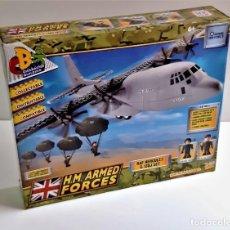 Juegos construcción - Lego: AVION RSF HERCULES C-130J SET DE CONSTRUCCION TIPO LEGO EN CAJA DE 35 X 29.CM. Lote 221971328