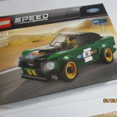 Juegos construcción - Lego: LEGO SPEED CHAMPIONS FORD MUSTANG REF: 75884 NUEVO SIN ABRIR. Lote 222014470
