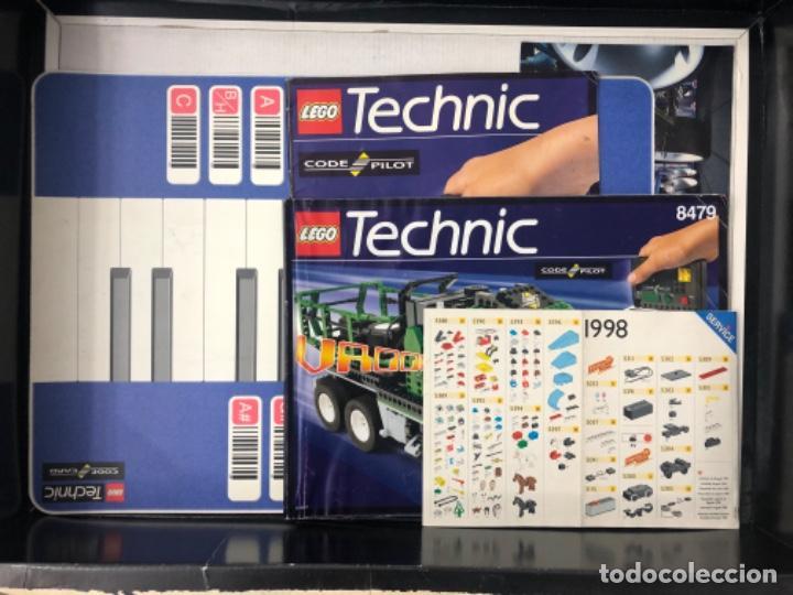 Juegos construcción - Lego: LEGO TECHNIC 8479 CODE PILOT ORIGINAL - Foto 4 - 222295186