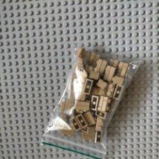 Juegos construcción - Lego: LEGO ORIGINAL BRICK MODIFICADO 1X2. DARK TAN. #98283. 50 UNIDADES NUEVAS.. Lote 222457215