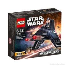 Juegos construcción - Lego: LEGO STAR WARS™ 75163 KRENNIC DE LANZADERA IMPERIA MICROFIGHTER NUEVO SELLADO.. Lote 222561228
