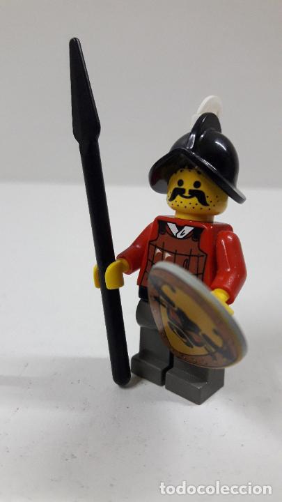 Juegos construcción - Lego: GUERRERO MEDIEVAL . ORIGINAL DE LEGO - Foto 3 - 222646672