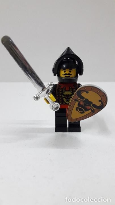 Juegos construcción - Lego: GUERRERO MEDIEVAL . ORIGINAL DE LEGO - Foto 2 - 222646807