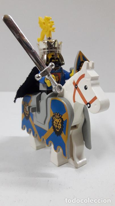 RICARDO CORAZON DE LEON A CABALLO . ORIGINAL DE LEGO (Juguetes - Construcción - Lego)
