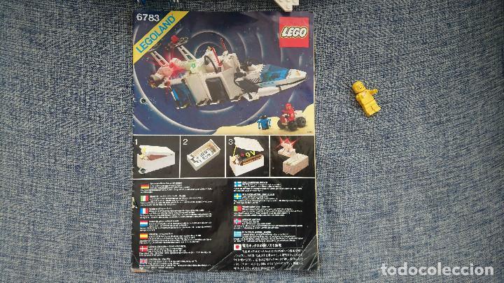 Juegos construcción - Lego: ANTIGUO LEGO 6783 SPACE año 1986 - INCOMPLETO Y CON INSTRUCCIONES - Foto 9 - 222668800