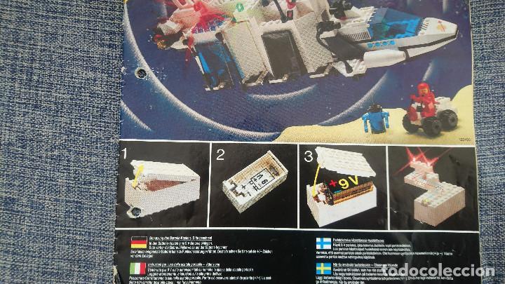 Juegos construcción - Lego: ANTIGUO LEGO 6783 SPACE año 1986 - INCOMPLETO Y CON INSTRUCCIONES - Foto 10 - 222668800