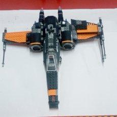 Juegos construcción - Lego: LOTE LEGO- S WING FIGHTERS POE'S CAMERON - ESTRELLADA - PARA PIEZAS O COMPLETAR -500 GR. Lote 222810720