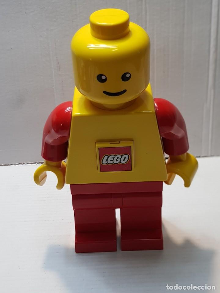 LEGO LINTERNA GRANDE ORIGINAL FUNCIONANDO (Juguetes - Construcción - Lego)