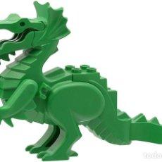 Juegos construcción - Lego: LEGO FIGURA DRAGÓN VERDE DE CASTILLO, EN SETS 6076,6037,6087,6056,6082,9376 (COMPRA MINIMA 15 EUR). Lote 223653340