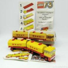 Juegos construcción - Lego: ANTIGUO LEGO REFERENCIA 688 AÑO 1973 CAMIÓN SHELL, COMPLETO CON INSTRUCCIONES Y CAJA. Lote 223889015