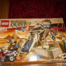 Juegos construcción - Lego: LEGO PHARAOH'S QUEST SCORPION PYRAMID 7327 LA PIRAMIDE DEL FARAON DESCATALOGADO MUY COMPLETO. Lote 223914520