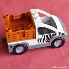 Juegos construcción - Lego: COCHE - FURGONETA O CAMION - ZOO - LEGO DUPLO. Lote 224114927