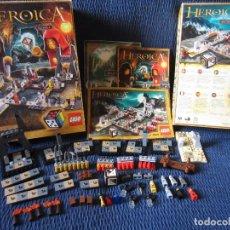 Juegos construcción - Lego: LEGO HEROICA, LAS CAVERNAS DE NATHUZ (LEGO 3859). Lote 224258688