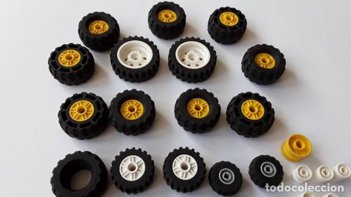 LOTE LEGO, RUEDAS (Juguetes - Construcción - Lego)