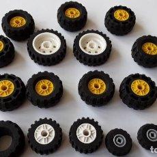 Juegos construcción - Lego: LOTE LEGO, RUEDAS. Lote 224520372