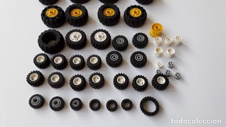 Juegos construcción - Lego: Lote Lego, ruedas - Foto 2 - 224520372
