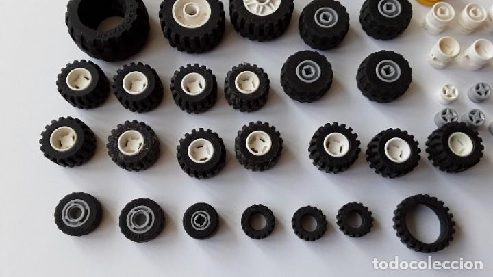 Juegos construcción - Lego: Lote Lego, ruedas - Foto 3 - 224520372