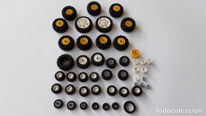 Juegos construcción - Lego: Lote Lego, ruedas - Foto 4 - 224520372