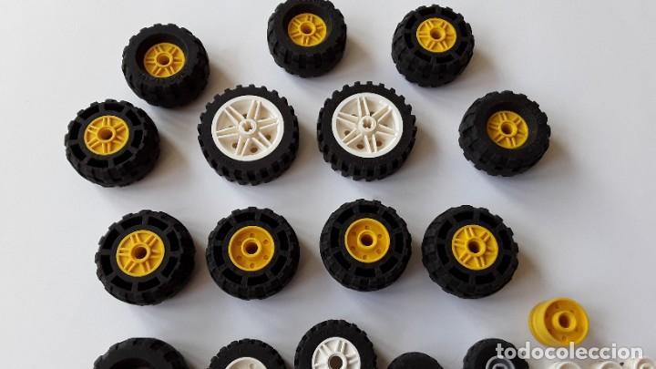 Juegos construcción - Lego: Lote Lego, ruedas - Foto 5 - 224520372