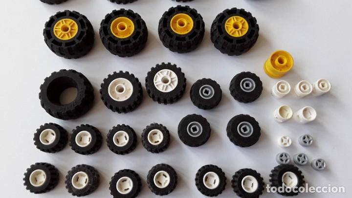 Juegos construcción - Lego: Lote Lego, ruedas - Foto 6 - 224520372
