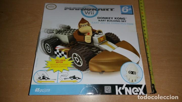 K NEX DONKEY KONG MARIO KART WII K'NEX NINTENDO VEHÍCULO A FRICCION NUEVO (Juguetes - Construcción - Lego)